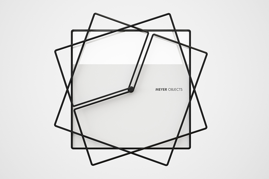 Frame Clock unique design modern wall clock
