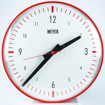 Meyer Objects | Modern Clock